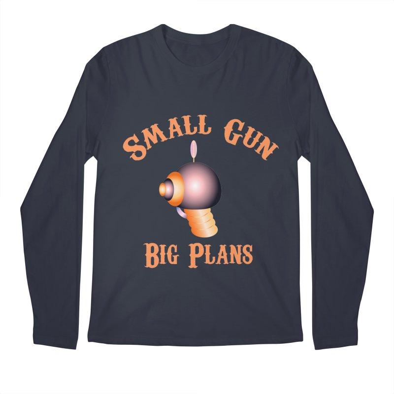 Small Gun Big Plans Men's Longsleeve T-Shirt by Shelly Still's Artist Shop