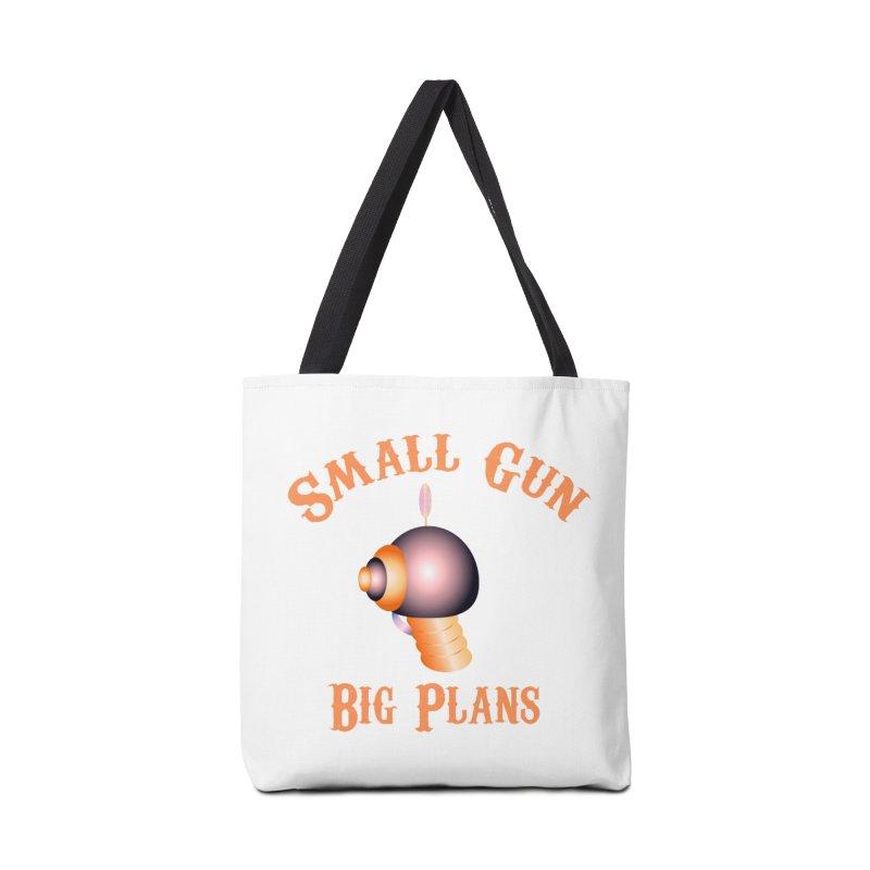 Small Gun Big Plans Accessories Bag by Shelly Still's Artist Shop