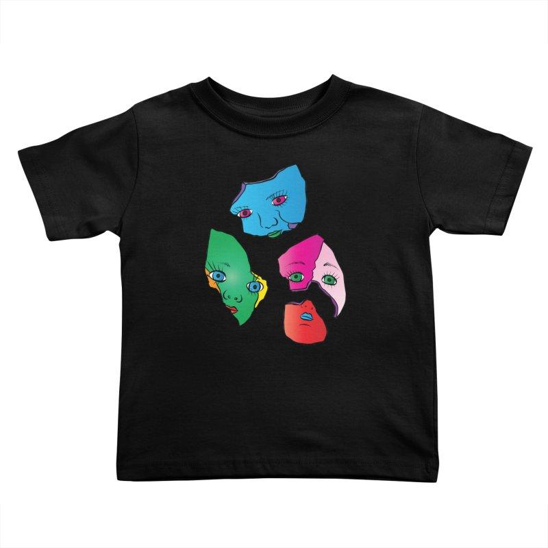 Broken Dolls Kids Toddler T-Shirt by Shelly Still's Artist Shop