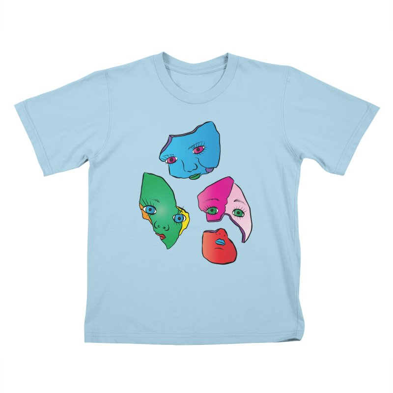 Broken Dolls Kids T-shirt by Shelly Still's Artist Shop