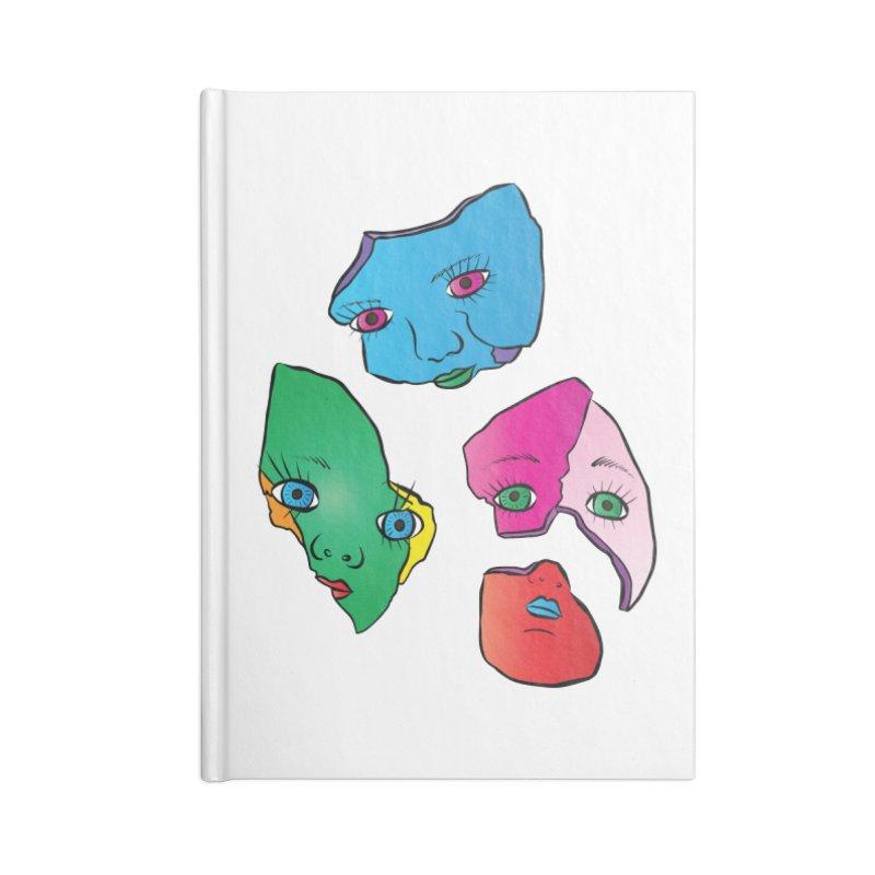 Broken Dolls Accessories Notebook by Shelly Still's Artist Shop