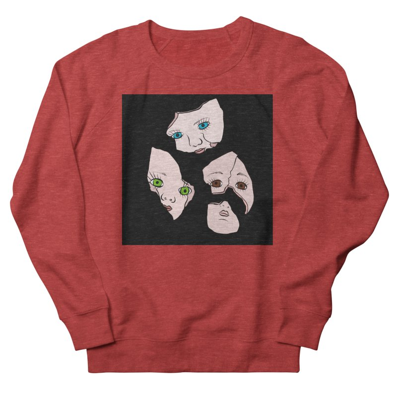 Broken Dolls Men's Sweatshirt by Shelly Still's Artist Shop