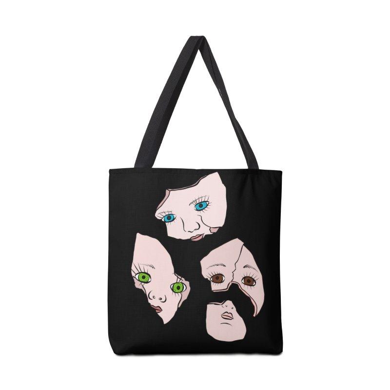 Broken Dolls Accessories Bag by Shelly Still's Artist Shop