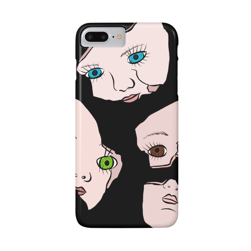 Broken Dolls Accessories Phone Case by Shelly Still's Artist Shop