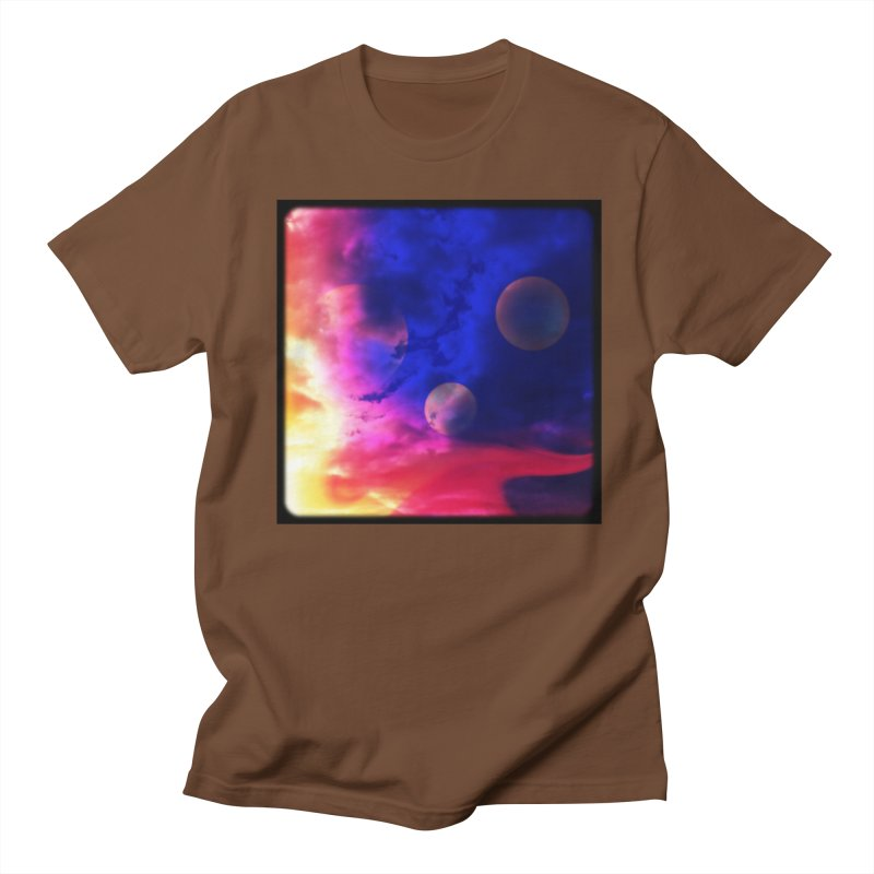 The Planets Men's T-shirt by Shelly Still's Artist Shop