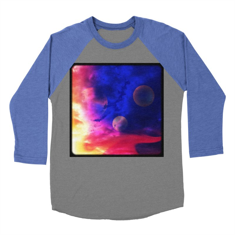 The Planets Women's Baseball Triblend T-Shirt by Shelly Still's Artist Shop