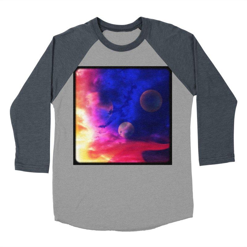 The Planets Men's Baseball Triblend T-Shirt by Shelly Still's Artist Shop