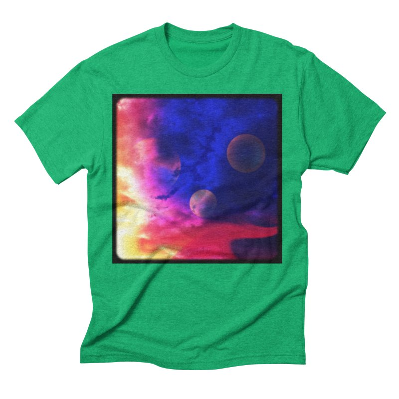 The Planets Men's Triblend T-shirt by Shelly Still's Artist Shop