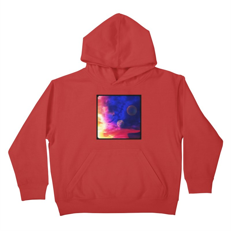 The Planets Kids Pullover Hoody by Shelly Still's Artist Shop