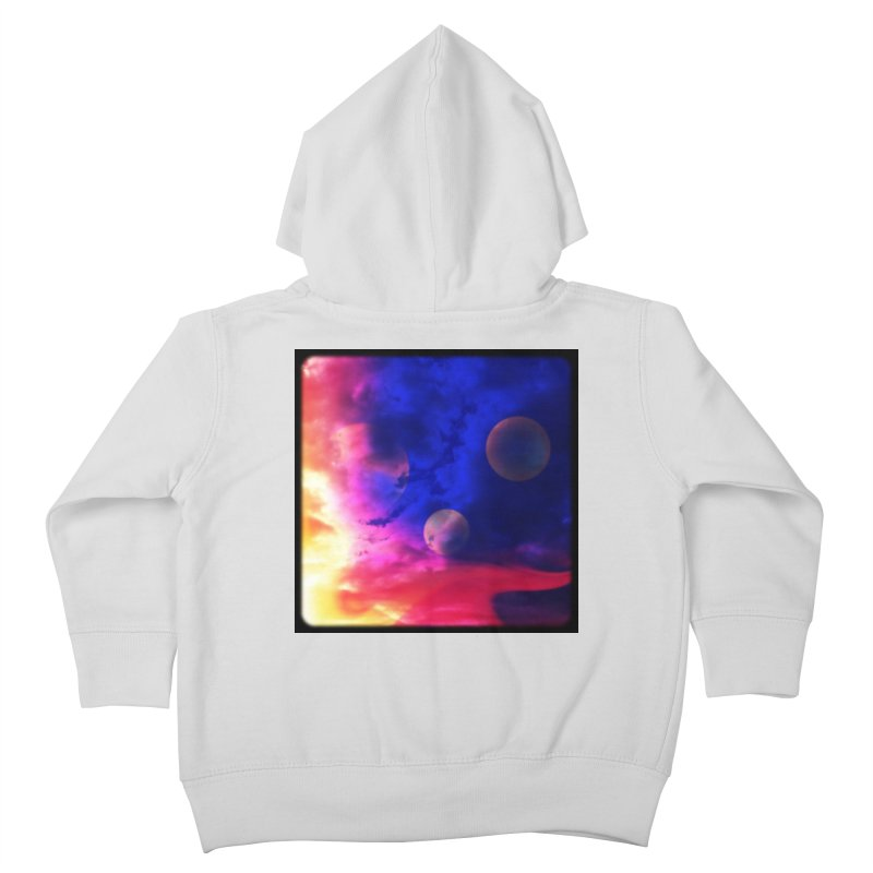 The Planets Kids Toddler Zip-Up Hoody by Shelly Still's Artist Shop