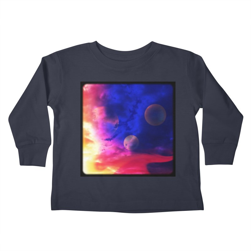 The Planets Kids Toddler Longsleeve T-Shirt by Shelly Still's Artist Shop