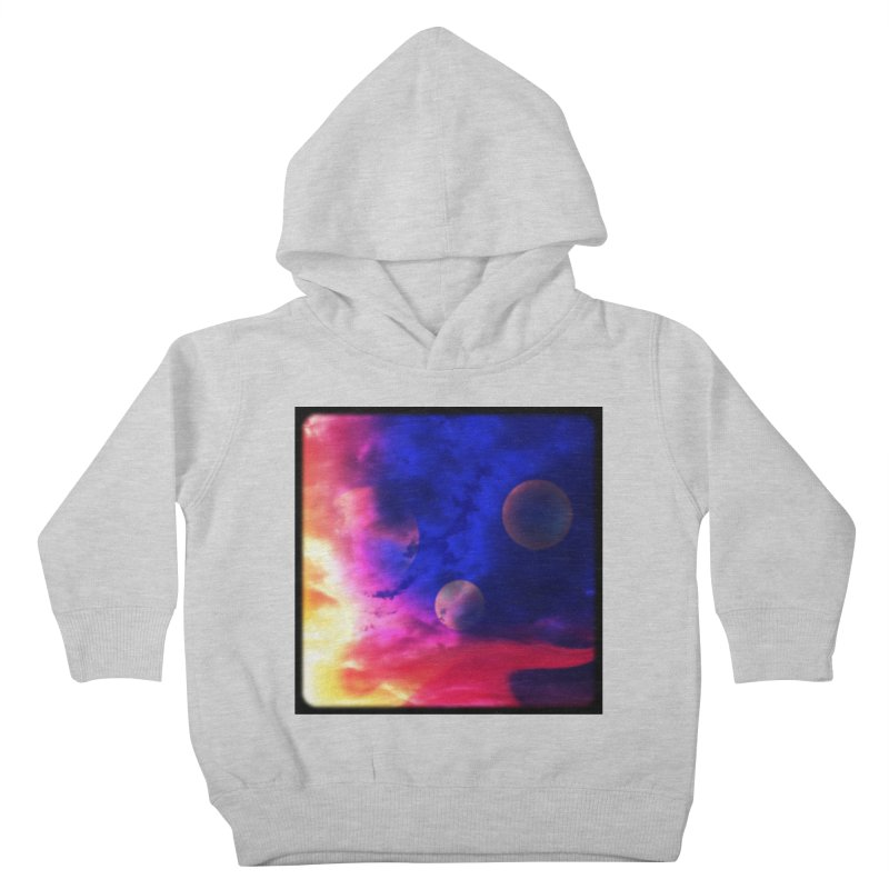 The Planets Kids Toddler Pullover Hoody by Shelly Still's Artist Shop