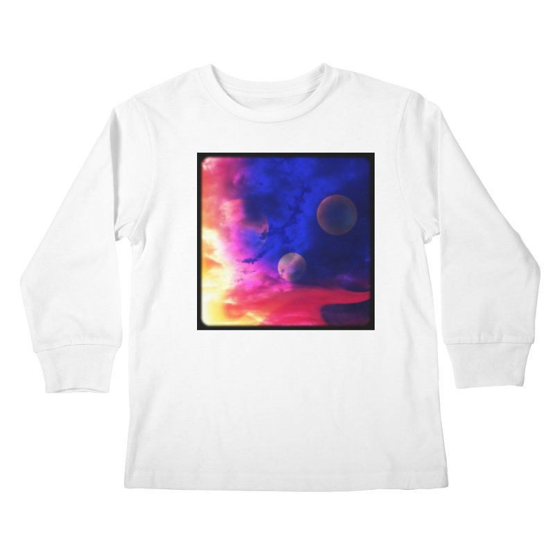 The Planets Kids Longsleeve T-Shirt by Shelly Still's Artist Shop