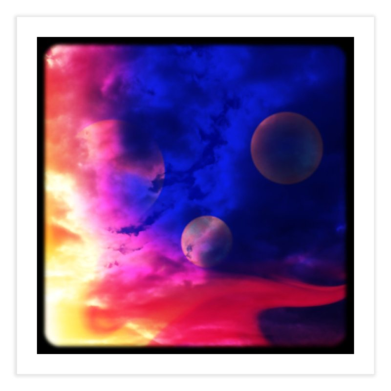 The Planets Home Fine Art Print by Shelly Still's Artist Shop