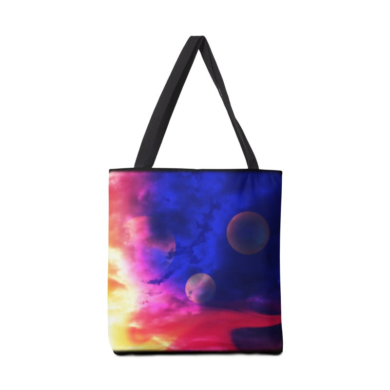 The Planets Accessories Bag by Shelly Still's Artist Shop