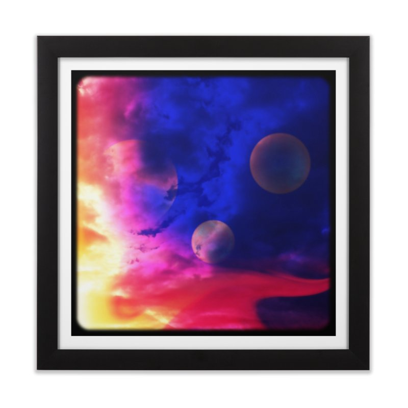 The Planets Home Framed Fine Art Print by Shelly Still's Artist Shop