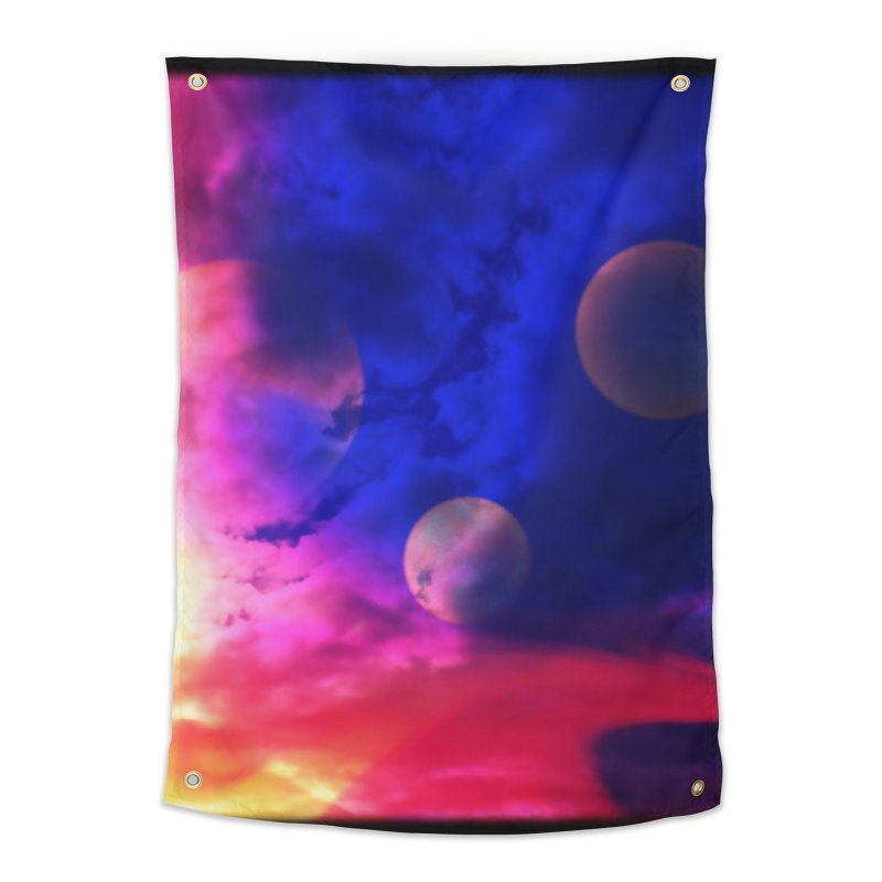 The Planets Home Tapestry by Shelly Still's Artist Shop