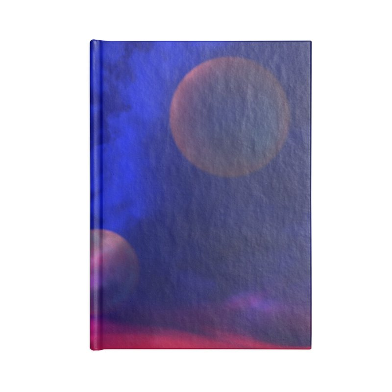 The Planets Accessories Notebook by Shelly Still's Artist Shop