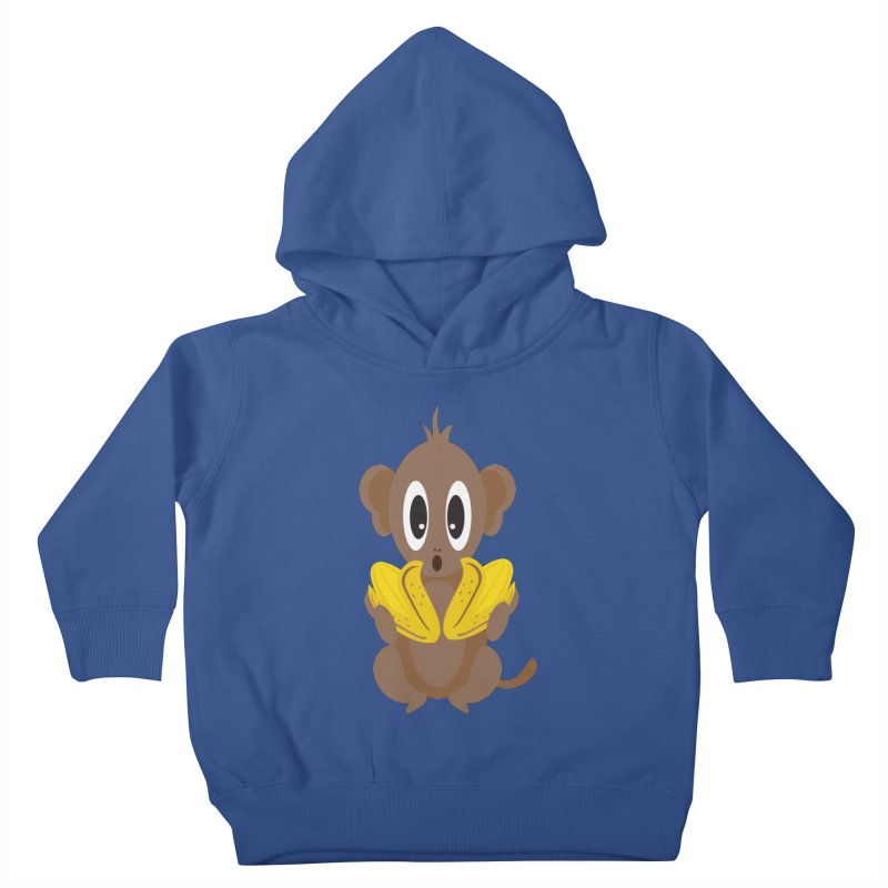 Lil Monkey Face Kids Toddler Pullover Hoody by Shelly Still's Artist Shop