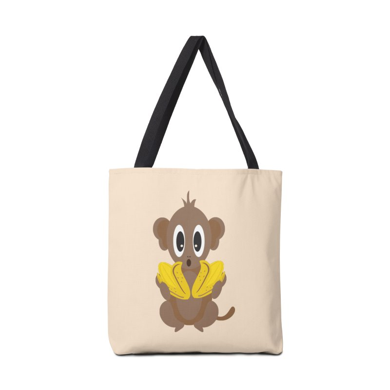 Lil Monkey Face Accessories Bag by Shelly Still's Artist Shop