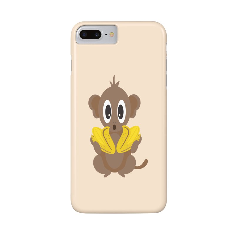 Lil Monkey Face Accessories Phone Case by Shelly Still's Artist Shop
