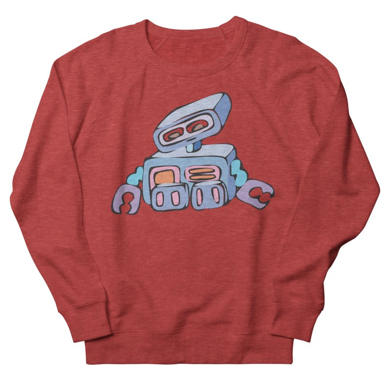 Sad Sad Robot Women's Sweatshirt by Shelly Still's Artist Shop
