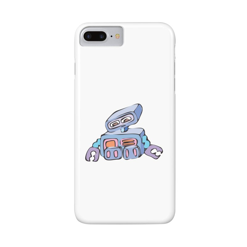 Sad Sad Robot Accessories Phone Case by Shelly Still's Artist Shop
