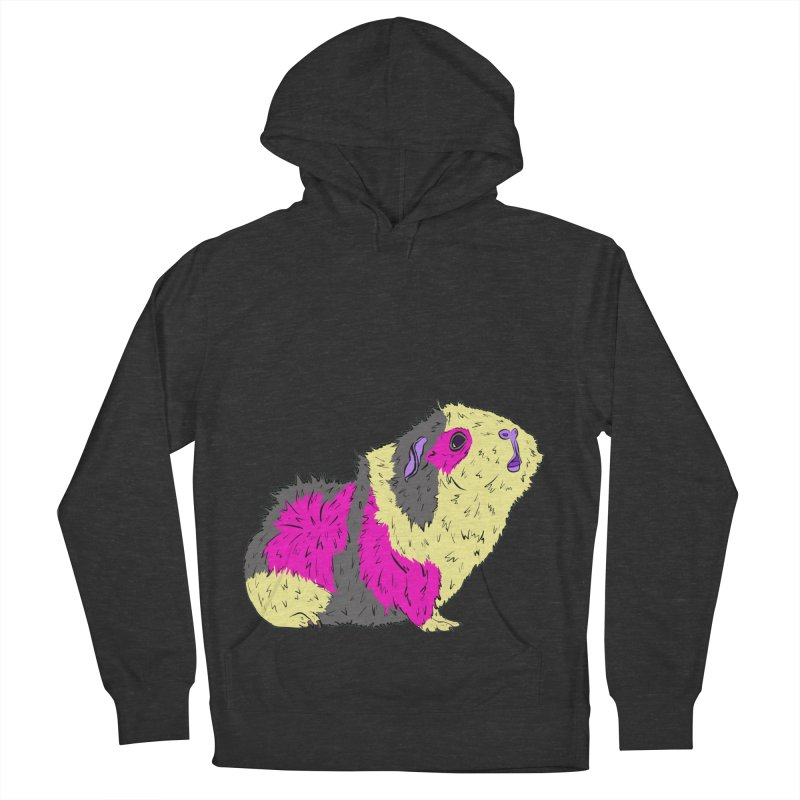 Piggy Stardust - Bowie Guinea Pig Tribute Women's Pullover Hoody by Shelly Still's Artist Shop
