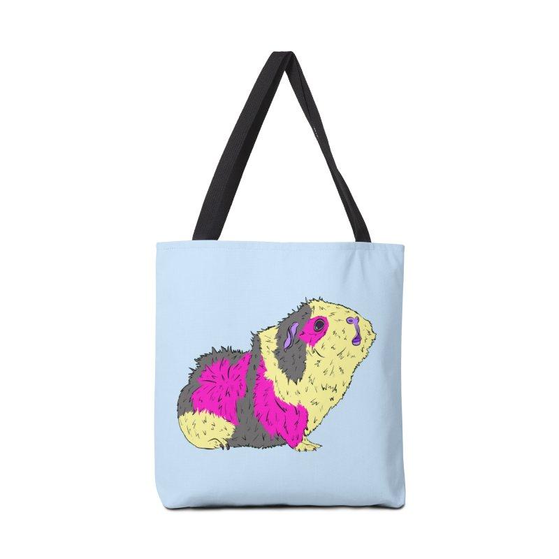 Piggy Stardust - Bowie Guinea Pig Tribute Accessories Bag by Shelly Still's Artist Shop