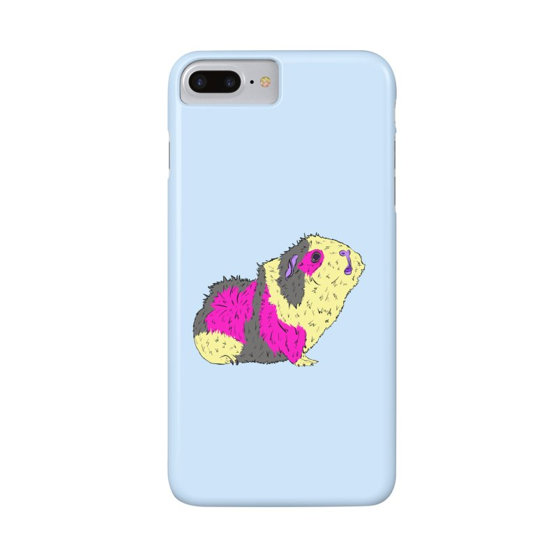 Piggy Stardust - Bowie Guinea Pig Tribute Accessories Phone Case by Shelly Still's Artist Shop