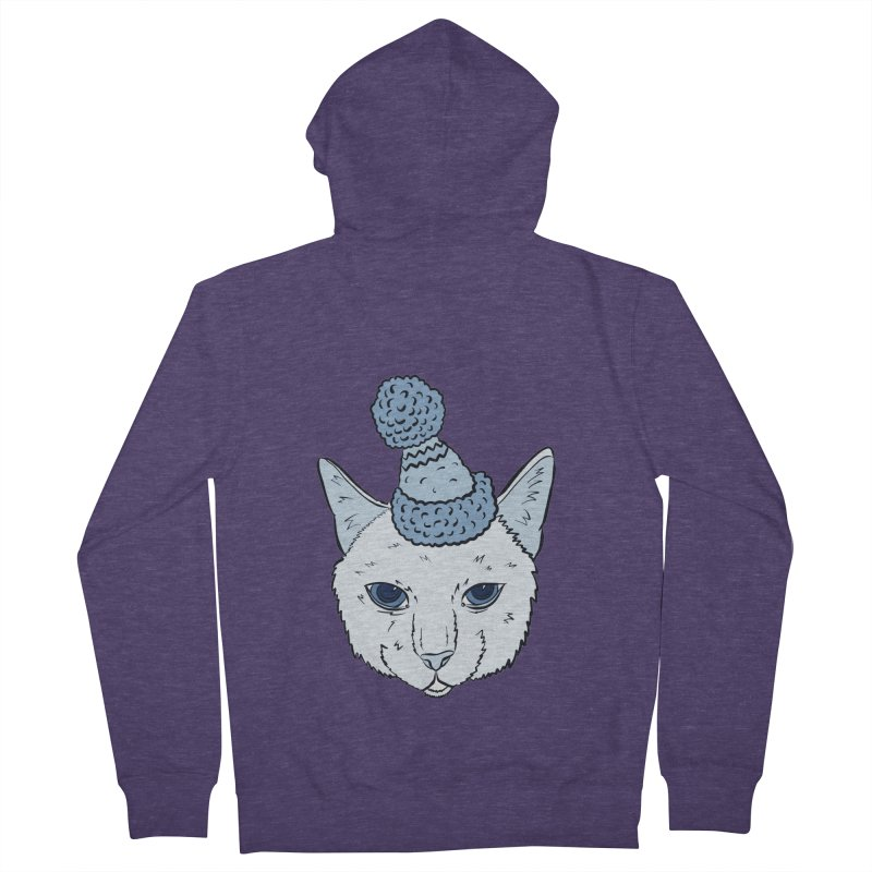 That Cat in the Hat Men's Zip-Up Hoody by Shelly Still's Artist Shop