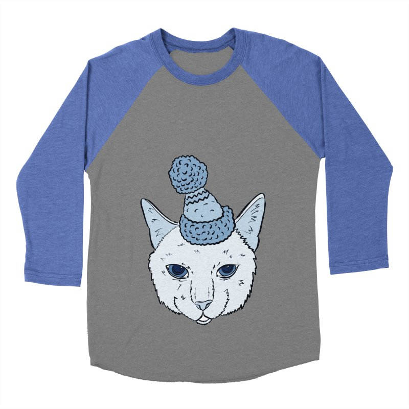That Cat in the Hat Women's Baseball Triblend T-Shirt by Shelly Still's Artist Shop