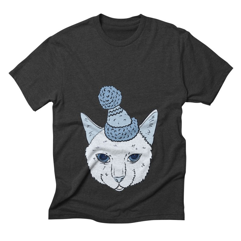 That Cat in the Hat Men's Triblend T-shirt by Shelly Still's Artist Shop