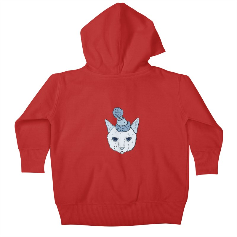 That Cat in the Hat Kids Baby Zip-Up Hoody by Shelly Still's Artist Shop