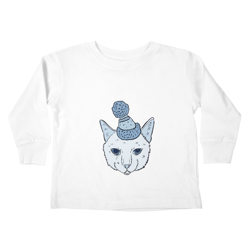 That Cat in the Hat Kids Toddler Longsleeve T-Shirt by Shelly Still's Artist Shop