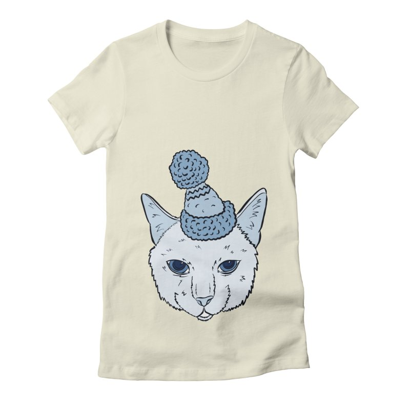 That Cat in the Hat Women's Fitted T-Shirt by Shelly Still's Artist Shop