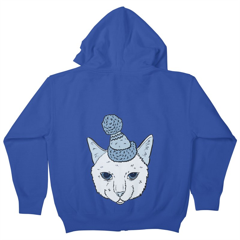 That Cat in the Hat Kids Zip-Up Hoody by Shelly Still's Artist Shop