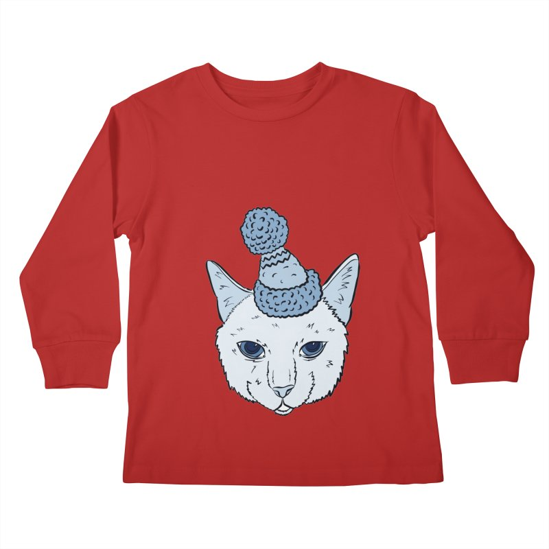That Cat in the Hat Kids Longsleeve T-Shirt by Shelly Still's Artist Shop