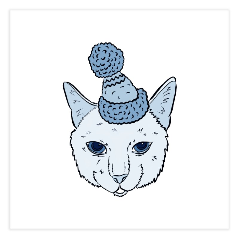 That Cat in the Hat Home Fine Art Print by Shelly Still's Artist Shop