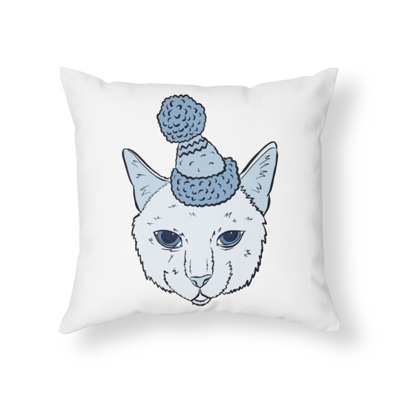That Cat in the Hat Home Throw Pillow by Shelly Still's Artist Shop