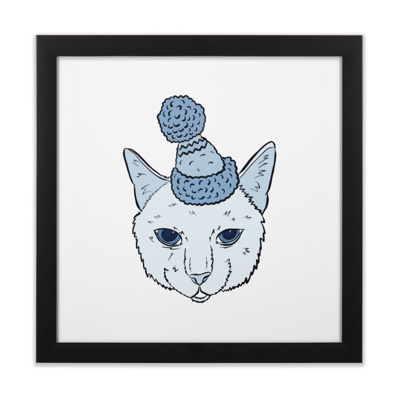 That Cat in the Hat Home Framed Fine Art Print by Shelly Still's Artist Shop