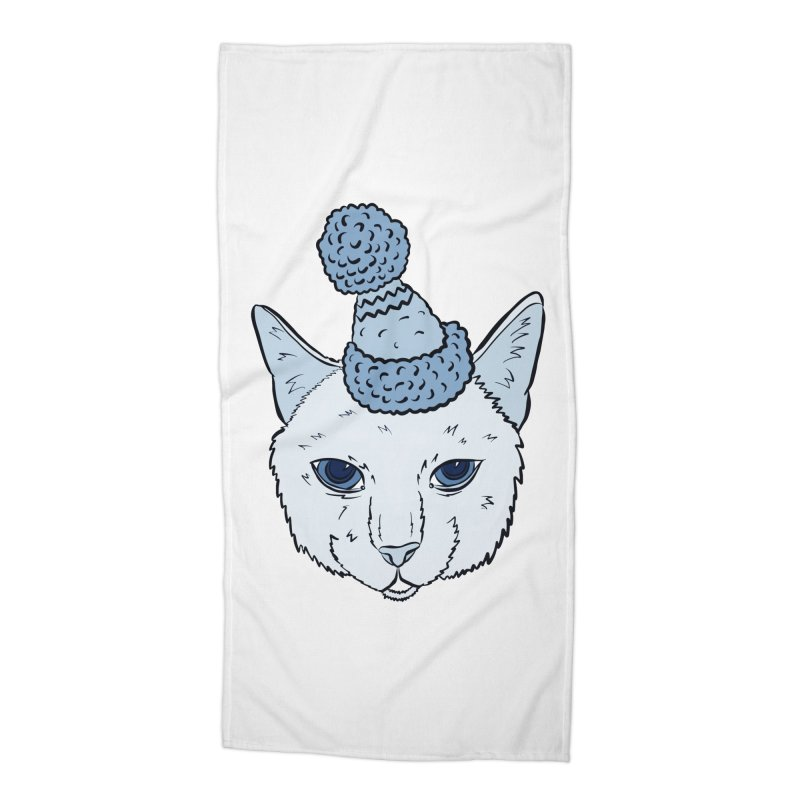 That Cat in the Hat Accessories Beach Towel by Shelly Still's Artist Shop