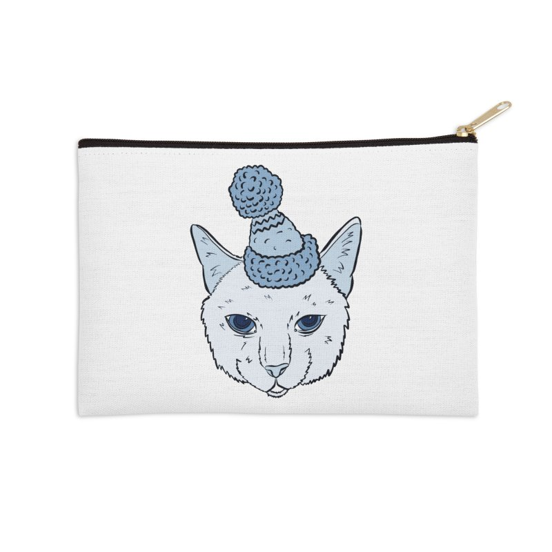 That Cat in the Hat Accessories Zip Pouch by Shelly Still's Artist Shop