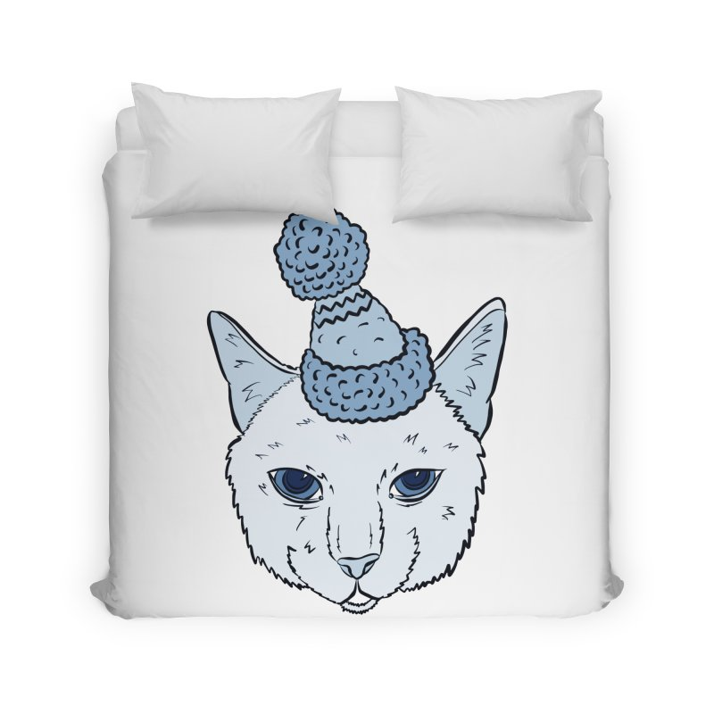 That Cat in the Hat Home Duvet by Shelly Still's Artist Shop