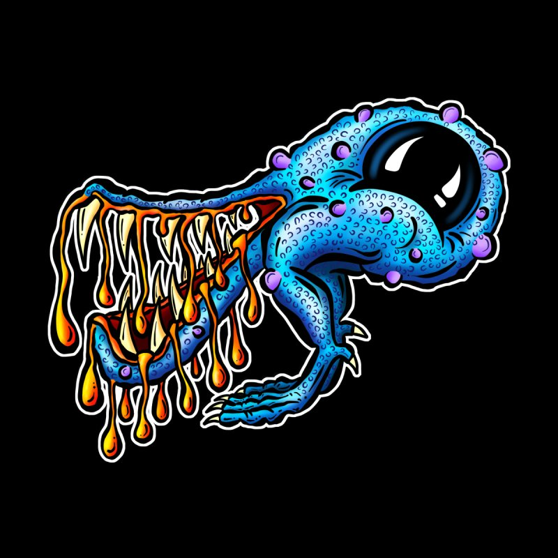 Harry Big Mouth Monster Creature Alien Cartoon by shellystill's Artist Shop