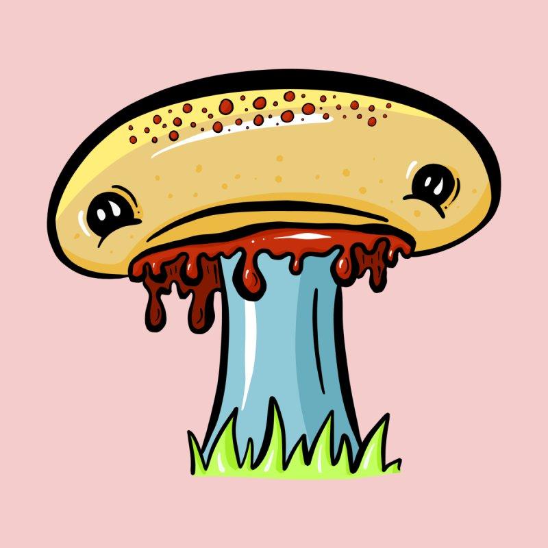 Sad Sad Shroom, Mushroom Face Cartoon by shellystill's Artist Shop