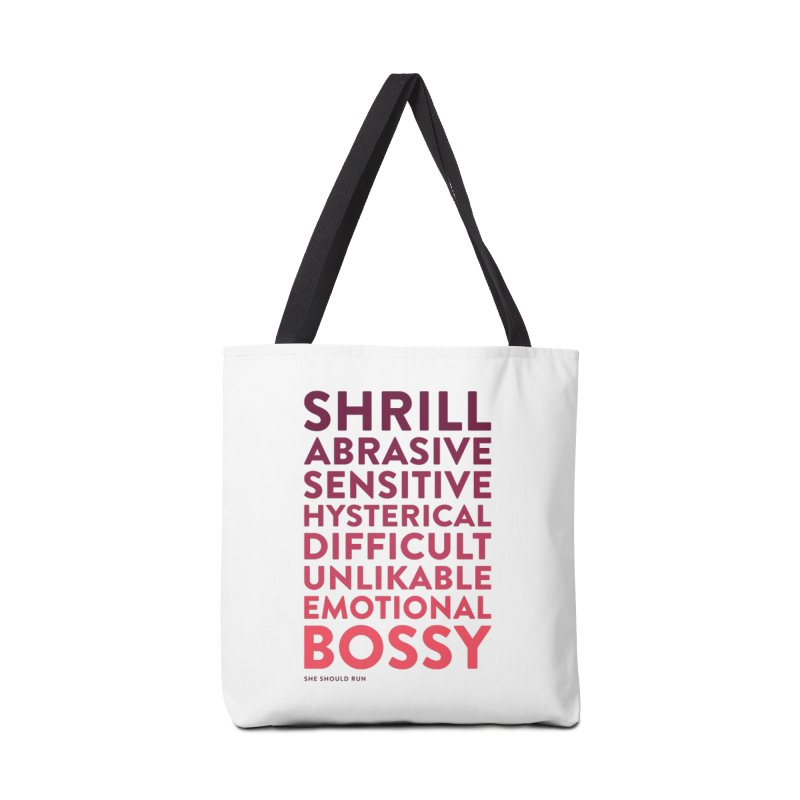 Unlikable Accessories Tote Bag Bag by She Should Run Swag Shop