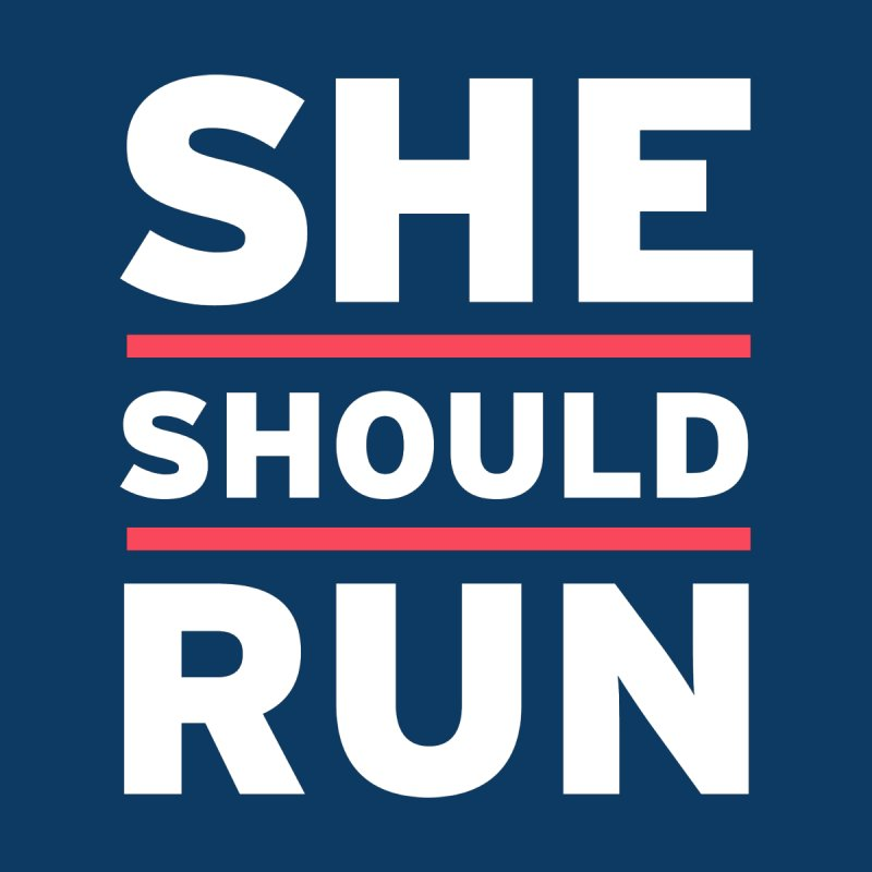 She Should Run Logo Women's T-Shirt by She Should Run Swag Shop