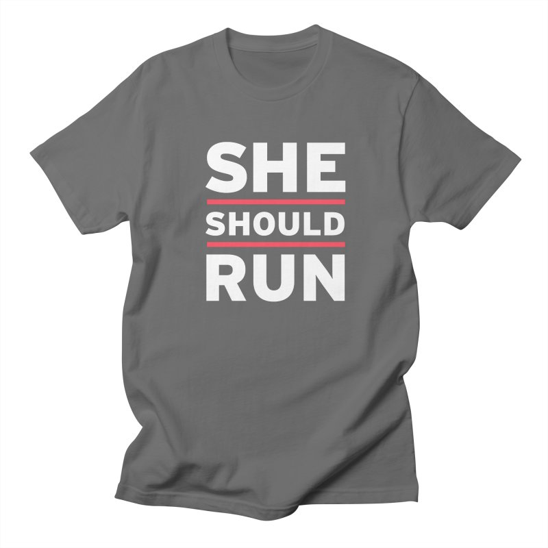 She Should Run Logo Men's T-Shirt by She Should Run Swag Shop