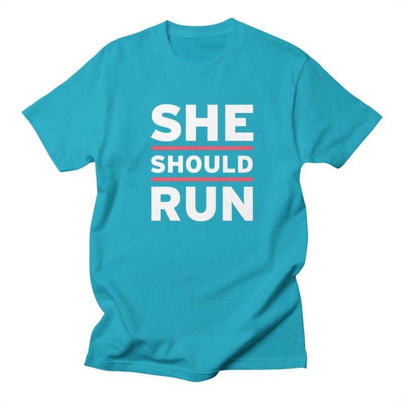 She Should Run Logo Women's T-Shirt by She Should Run Swag Shop